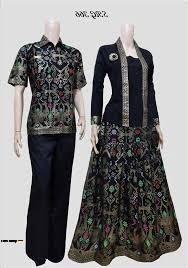 66+ Model Baju Batik Couple Jaman Sekarang Terbaru